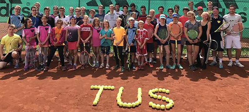 TuS-Tennis startet durch in 2019